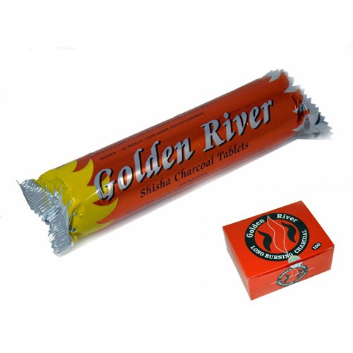 CARBUNI NARGHILEA GOLDEN RIVER 33MM