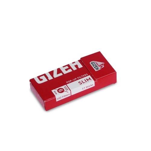 FILTRE TIGARI GIZEH SLIM POP UP 102 + 125 FOITE OCB BLUE GRATUIT