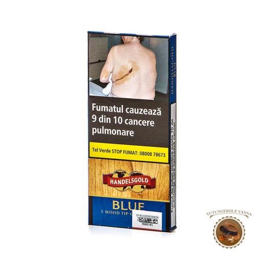 TIGARI DE FOI HANDELSGOLD WOOD TIP BLUE