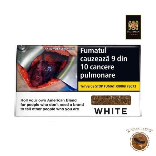 TUTUN MAC BAREN WHITE AMERICAN BLEND 35G