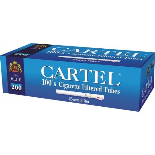 Tuburi- Tigari- Cartel- Blue- Long- 100's