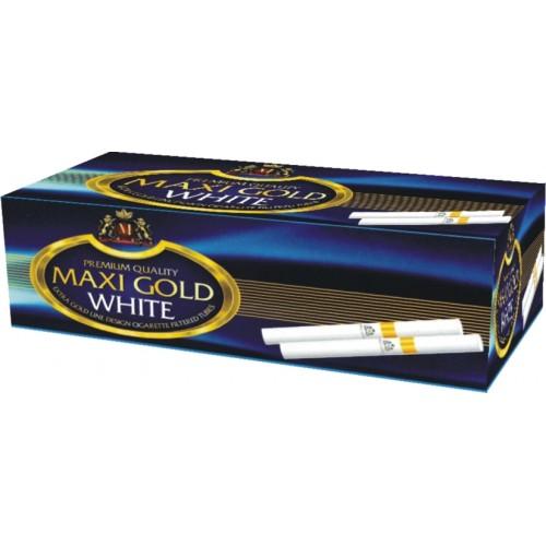 TUBURI TIGARI MAXI GOLD WHITE 200