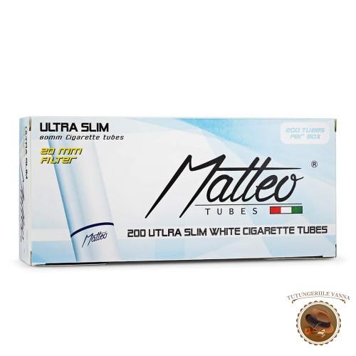 TUBURI TIGARI MATTEO WHITE SLIM 200