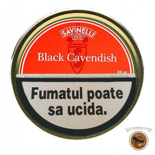 TUTUN PIPA SAVINELLI BLACK CAVENDISH 50G