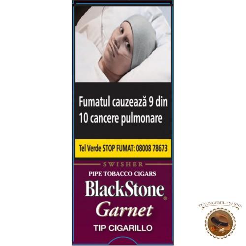 TIGARI DE FOI BLACK STONE TIP CIGARILLO GARNET