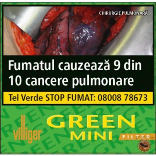TIGARI DE FOI VILLIGER GREEN MINI FILTER CAINPIRINHA
