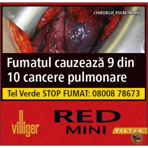 TIGARI DE FOI VILLIGER RED MINI FILTER