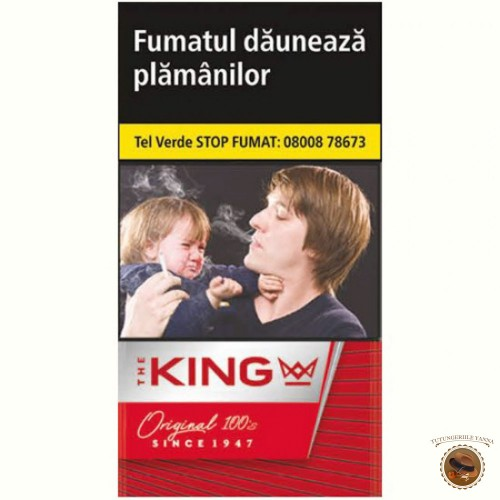 TIGARETE THE KING RED 100'S