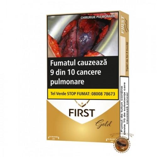 TIGARI DE FOI FIRST GOLD 45G