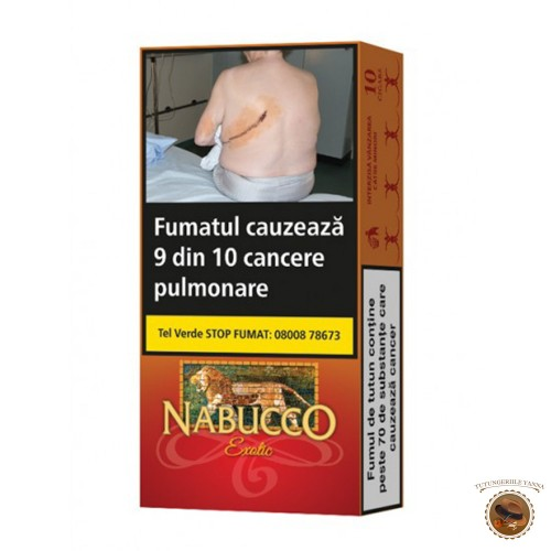 TIGARI DE FOI NABUCCO EXOTIC