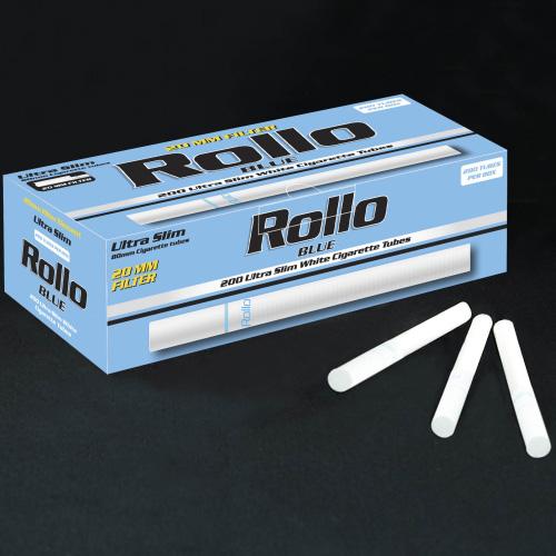 TUBURI TIGARI ROLLO BLUE ULTRA SLIM 200