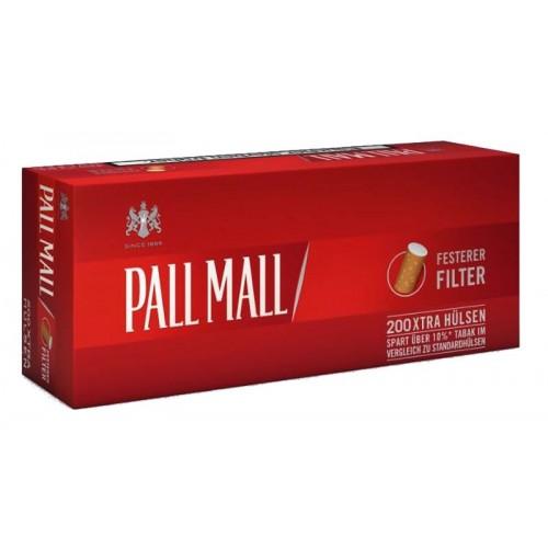 TUBURI TIGARI PALL MALL RED EXTRA 200