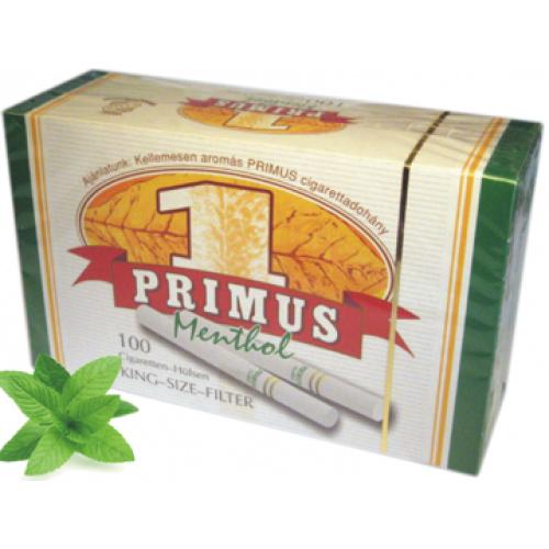 TUBURI TIGARI PRIMUS MENTHOL 100 X 10 buc.
