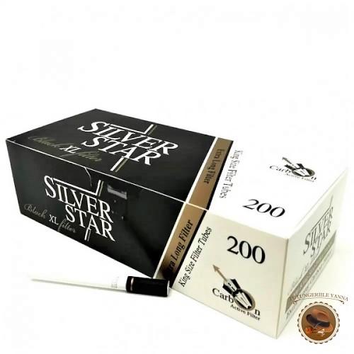 TUBURI TIGARI SILVER STAR BLACK XL CARBON ACTIV 200