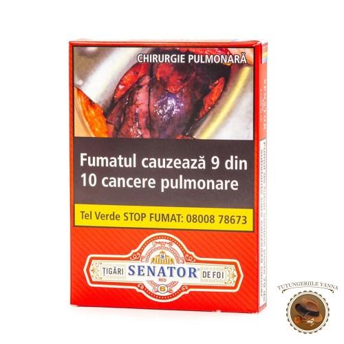 TIGARI DE FOI SENATOR RED 55g