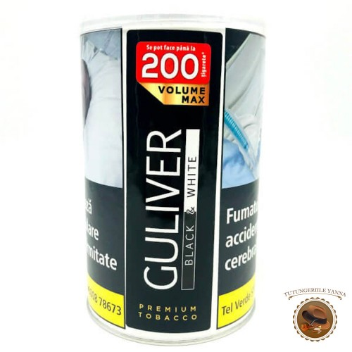 TUTUN GULIVER BLACK & WHITE 90g