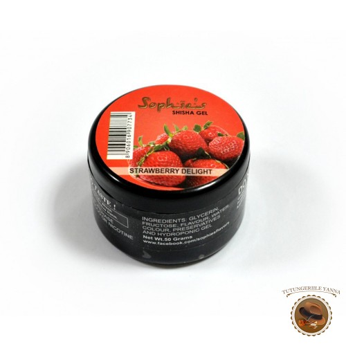 GEL NARGHILEA SOPHIES STRAWBERRY DELIGHT 50G