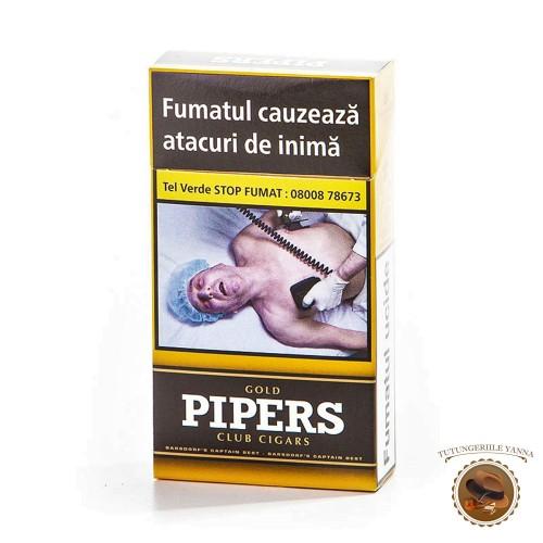 TIGARI DE FOI PIPERS GOLD CLUB CIGARS