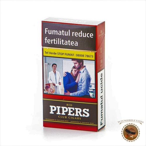 TIGARI DE FOI PIPERS RED CLUB CIGARS