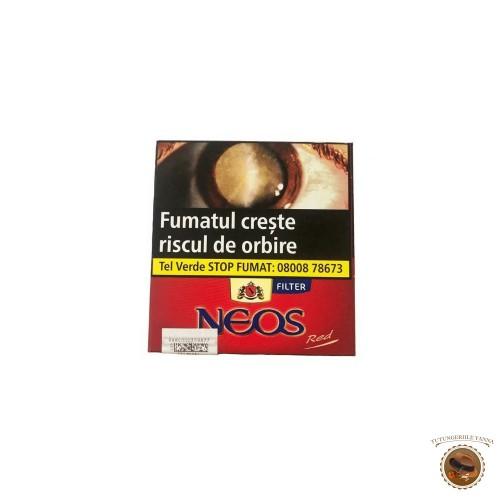TIGARI DE FOI NEOS FILTER RED