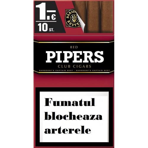 TIGARI DE FOI PIPERS RED CLUB 10